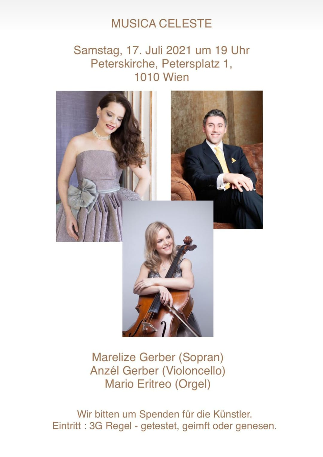 Anzel Gerber - Musica Celeste